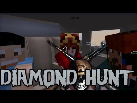 Random Minecraft: Diamond Hunt /w HeavenBUL, Aethelthryth, F1zeplayYT