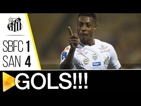 São Bernardo 1 x 4 Santos | GOLS | Paulistão (12/03/17)