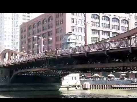 N. La Salle St Bridge, Chicago, IL -- a narrated tour
