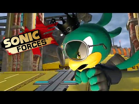 Sonic Forces - Space Port Gameplay Trailer