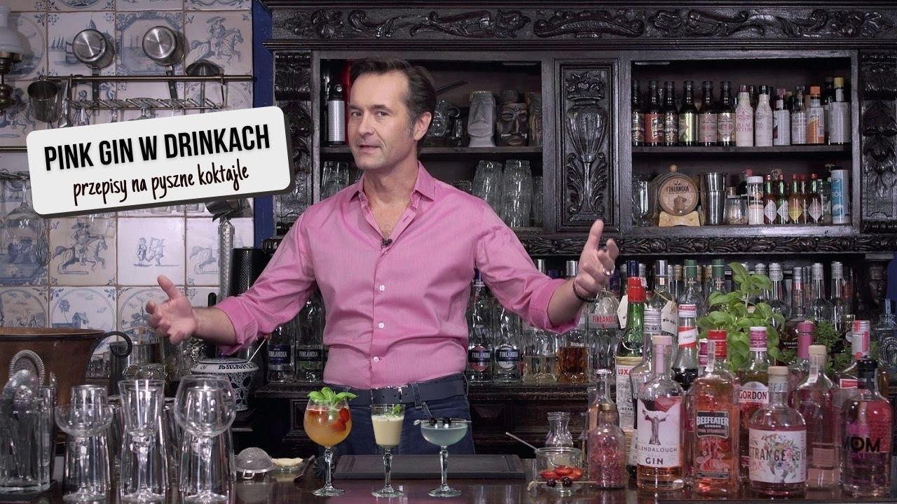Jak pić Pink Gin - przepisy na drinki. 3 pomysły jak zrobić koktajle z różowym ginem!