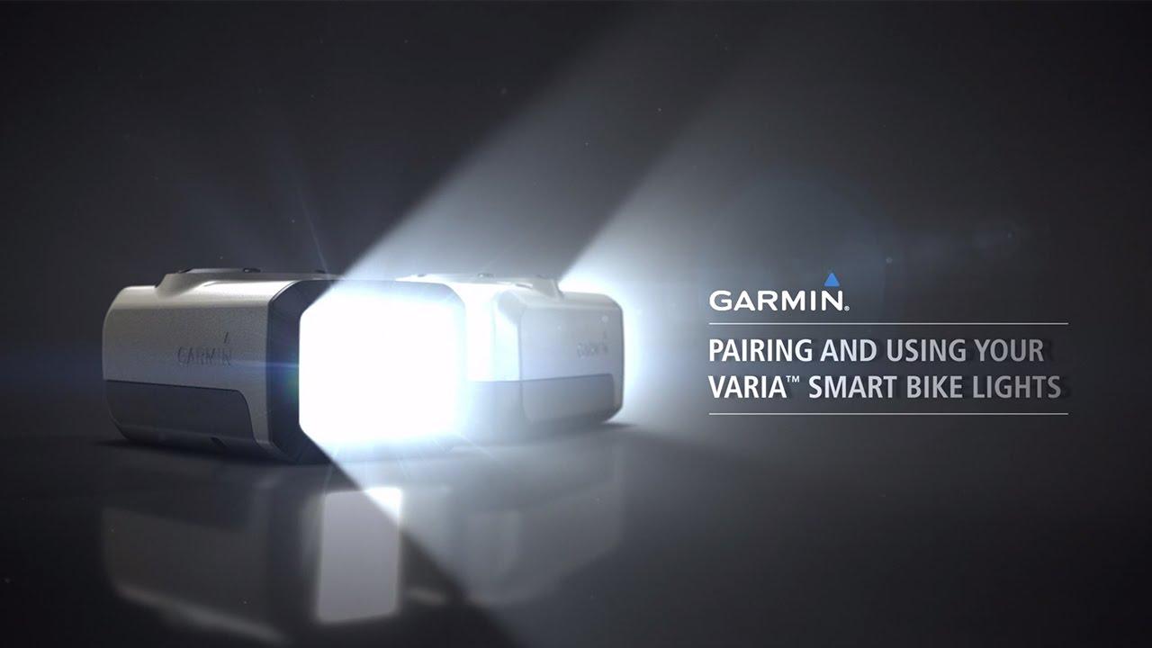 Garmin Varia Smart Bike Light ¦ HL501 ¦ Front Cycle phare ¦ Edge-Fenix-vivoactive