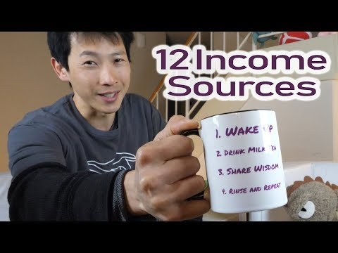My 12 Sources of Income