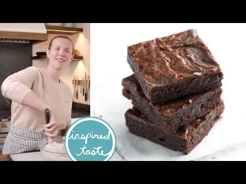 How To Make Outrageously Fudgy Brownies From Scratch - Easy Brownies Recipe - Updated