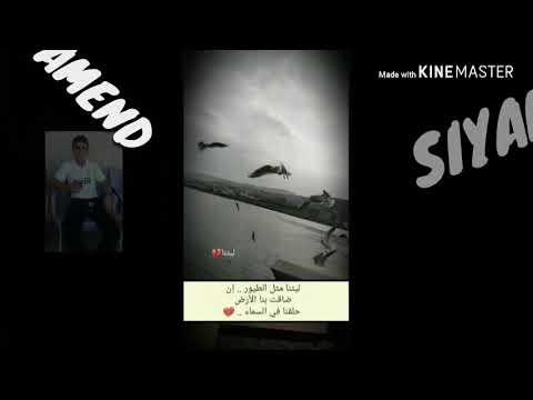 سيامند المستو صنع فيديو من برنامج كين ماستر