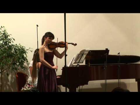 Sergei Prokofiev: Cinderella Suite, Waltz  (Marketa Janouskova- violin)