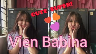 Viral Star from Tiktok Vien Babina Cute Photos   tiktokph   tiktok   Vien