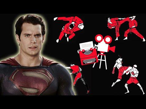 Man of Steel Smallville Fight Scene Breakdown - Superman vs Faora