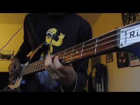 And Your Bird Can Sing (Bass ORIGINAL/Guitar Cover) The Beatles// 4K HD