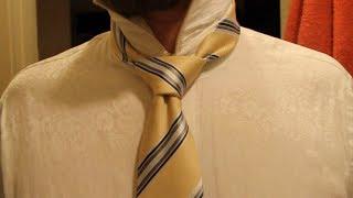 Как завязать галстук? Двойной Виндзор.