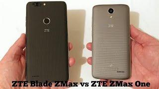 ZTE Blade ZMax vs ZTE ZMax One Speed Test Comparison