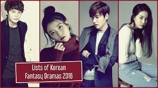 Video Lists of Korean Fantasy Dramas 2016 download MP3, 3GP, MP4, WEBM, AVI, FLV September 2017