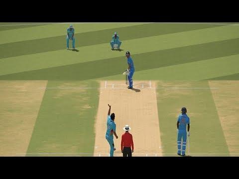 India VS Afghanistan Gameplay With Ashes Cricket | CWC19 | IND VS AFG | PC Gameplay