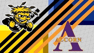 WSU vs ALCORN Women's Basketball highlights