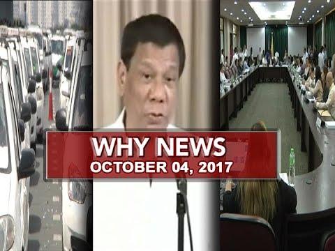 UNTV: Why News (October 04, 2017)