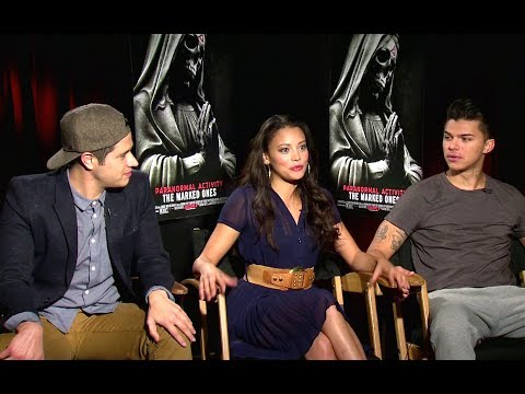 Jorge Diaz, Gabrielle Walsh & Andrew Jacobs   Paranormal Activity: The Marked Ones HD
