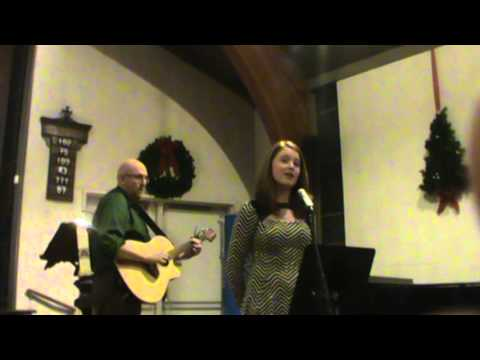 Grace Palmer sings 'Every Christmas is a Birthday'