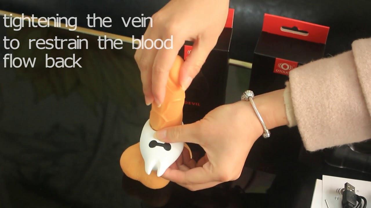 ペニスリング 超振動魂 7段階強力振動 初心者用の電動バイブ 防水 USB充電 静音 男女共振 早漏防止 (黒)