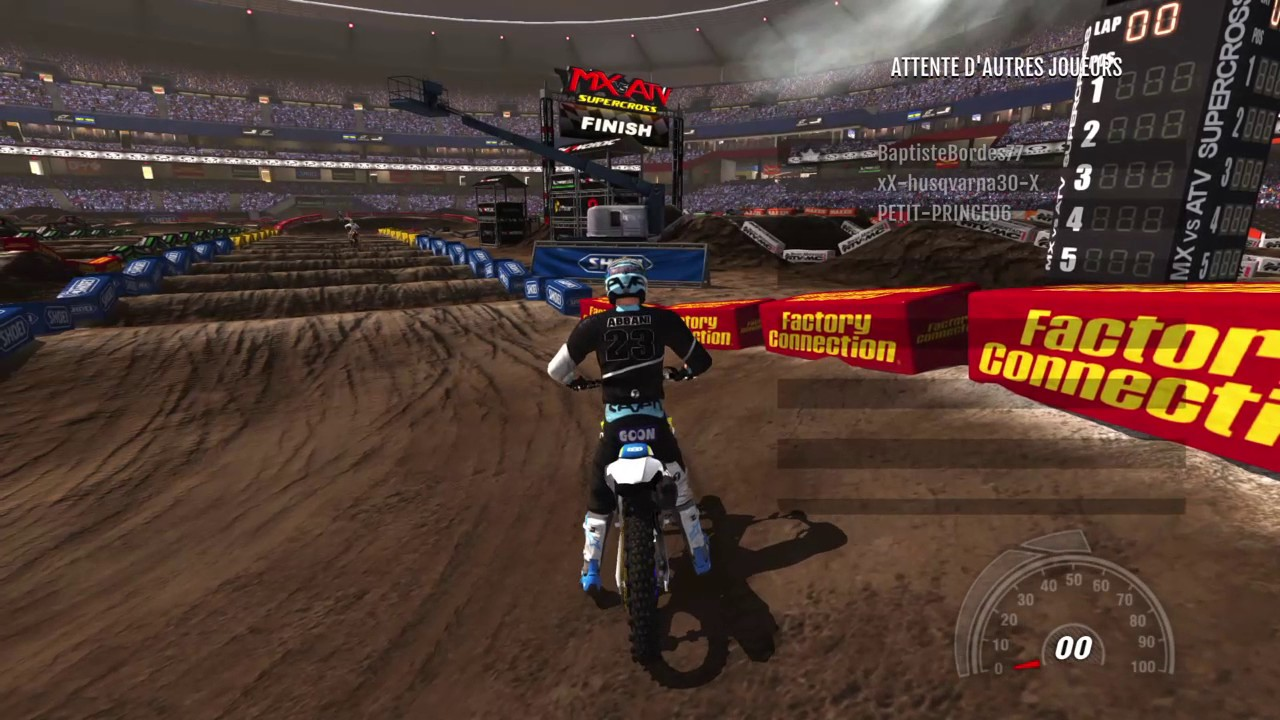mx vs atv supercross encore ps4 seattle training 2. Black Bedroom Furniture Sets. Home Design Ideas