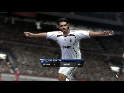 UEFA Champions League 2006-2007 PC Gameplay