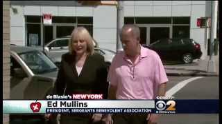 Ed Mullins Sergeants Benevolent Association: CBS News on Quality of Life Issues