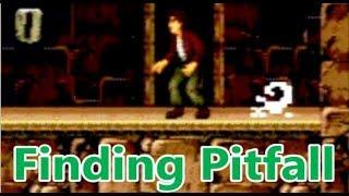 Finding the Original Pitfall in The Mayan Adventure Sega Genesis Easter Egg