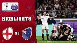 England 19-7 New Zealand | Rugby World Cup 2019 Match Highlights