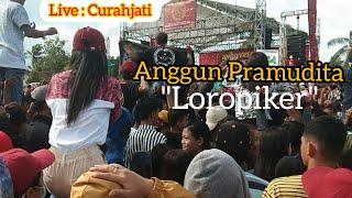 Anggun Pramudita, Loropiker,  Live bersama One nada di Curahjati