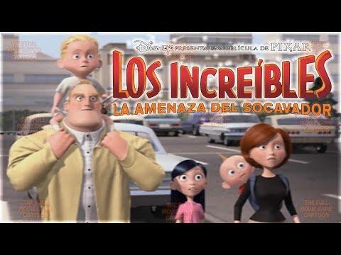 LOS INCREIBLES PELICULA COMPLETA DEL JUEGO EN ESPAÑOL Disney Pixar Juegos de Peliculas
