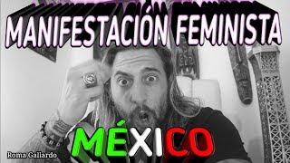 MANIFESTACIÓN FEMINISTA MÉXICO