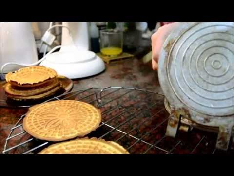 How to make my favourite cookies, Pizzelles!