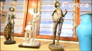 Exposição sobre Dom Quixote terá peças da coleção de José Seráfico