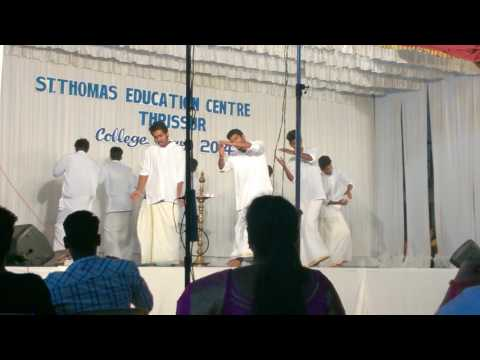 St Thomas Education centre  Thiruvathirakali by Boys