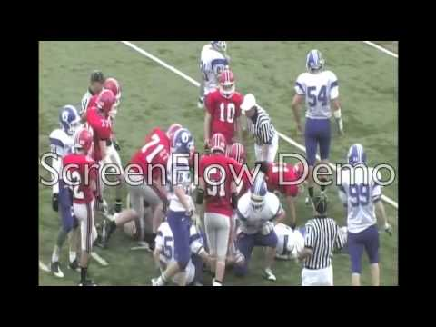 Chris White senior football highlights pt 2