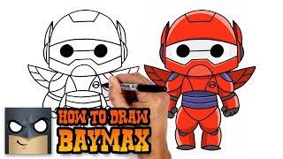 How to Draw Baymax | Big Hero 6 (Art Tutorial)