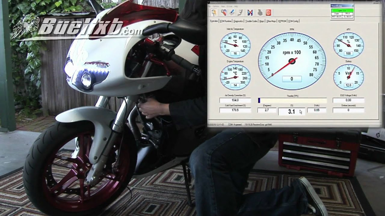 2009 Buell 1125cr Wiring Diagram Motorcycle Tps Reset How To Do It Yourself Video Youtube