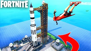 NASA ROCKET LAUNCH SITE in Fortnite Creative (Codes in Comments) ROYALE ROCKET FFA DEATHMATCH MAP