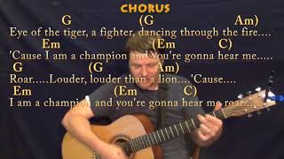 Roar (Katy Perry) Strum Guitar Cover Lesson in G with Chords/Lyrics