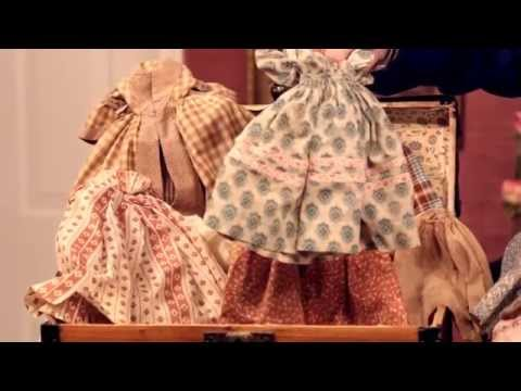 """Three Dolls With Trousseaux Part 2 in Theriault's """"As In A Looking Glass"""" Auction"""