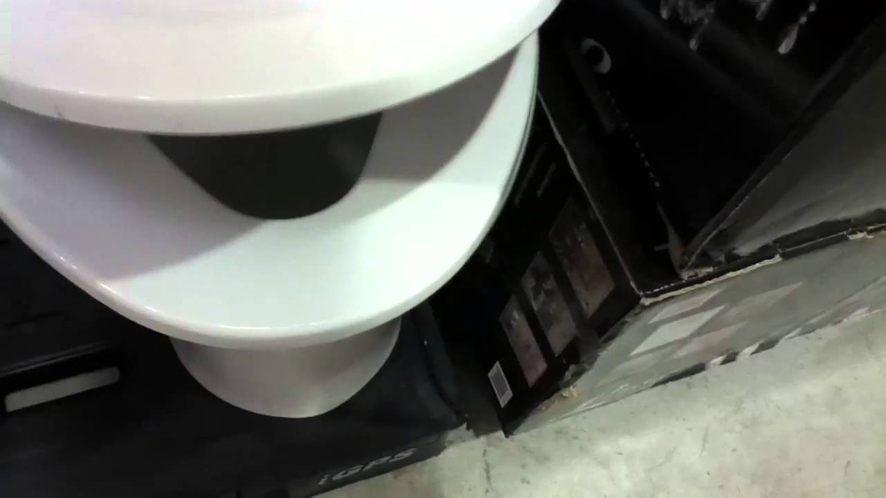 Non Flushable Display Water Ridge toilet at Costco - YouTube