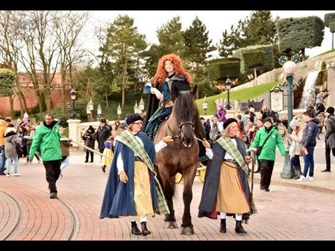Hommage rebelle brave 2016 disneyland paris youtube - Cheval rebelle ...