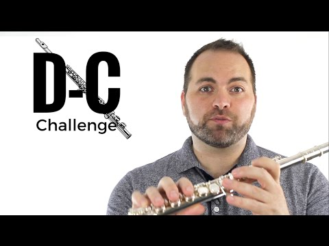 The D-C Challenge – Beginner Flute Tutorial