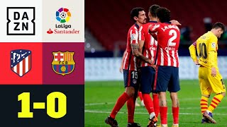 Decide Ferreira Carrasco: Atletico Madrid-Barcellona 1-0 | LaLiga | DAZN Highlights