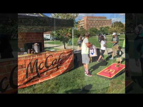 9/2/16 Michigan State v Furman McDonald's Coffee Sampling Activation