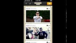 GANGNAM STYLE Social Network Service