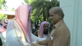 شاهد.. ماذا قال إمام الحرم المكي خلال زيارته لرئيس إقليم البنجاب الباكستاني؟