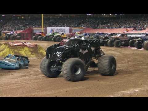 Monster Jam in Chase Field - Phoenix, AZ 2012 - Full Show -