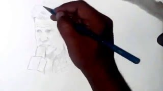 Drawing Chris Jericho Timelapse