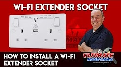 How to install a Wi-Fi extender socket