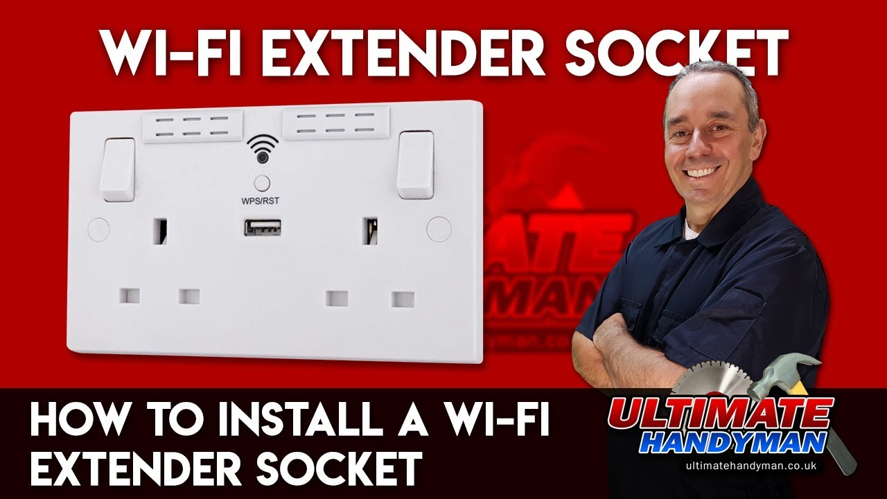 How To Install A Wi Fi Extender Socket Youtube Wiring An Outlet Then Light Switch
